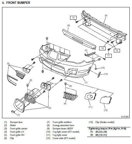 service manual pdf 2007 subaru impreza electrical wiring
