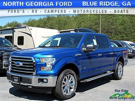 ford truck blue 2017 lightning blue ford f150 xlt supercrew 4x4 120350276