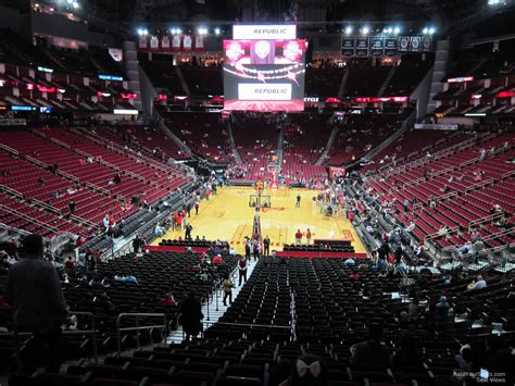 toyota center section 126 houston rockets