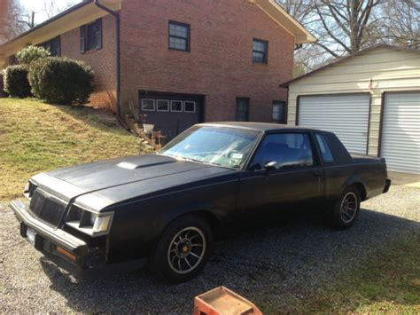 1985 buick regal grand national 1985 buick regal grand national coupe 2 door 3 8l for sale