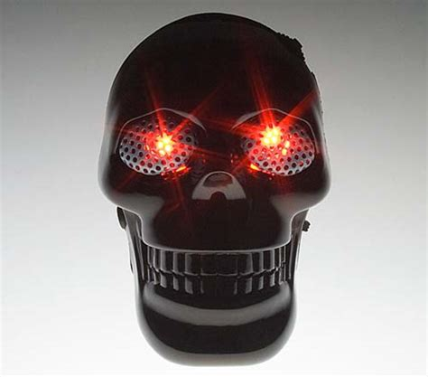 mp3 skulls mobile human skull usb mp3 player 187 coolest gadgets