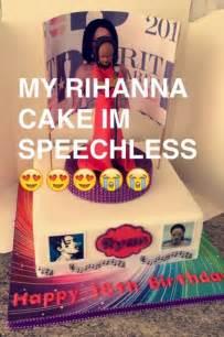 rihanna cake rihanna fan sends into meltdown with hilariously