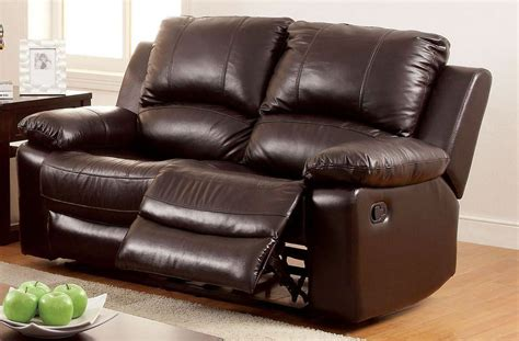 top grain leather reclining sofa davenport top grain leather match reclining loveseat