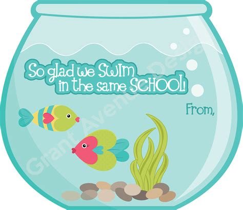 valentines day fish grant avenue design s day cards for