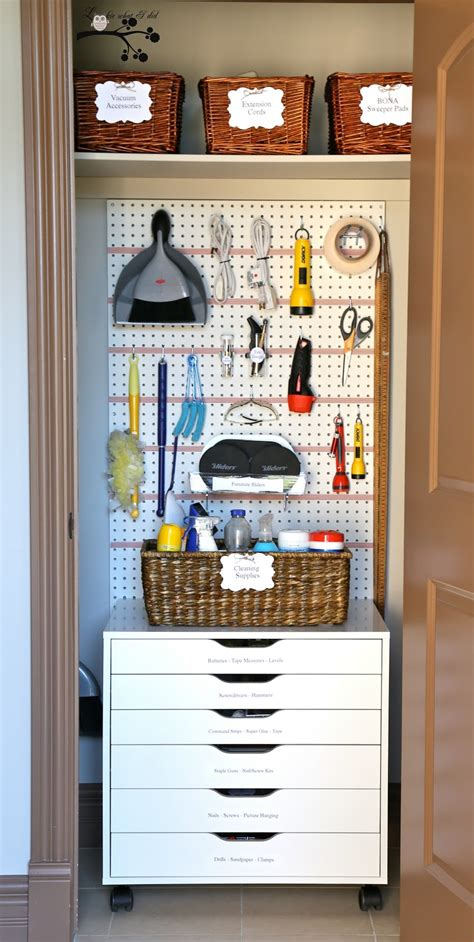 Utility Closet Organization Ideas by 35 Exquisite Home Organization Ideas To Get Rid Of All