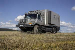 Mercedes Zetros Unimog Based Mercedes Zetros Is One Rv