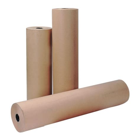 Brown Craft Paper Rolls - kraft brown paper roll 750mm x 25m staples 174
