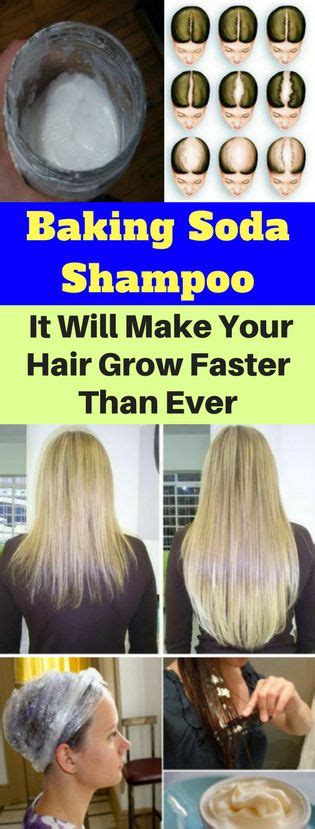 how to make your hair grow faster than ever 1 inch in a week baking soda shoo it will make your hair grow faster