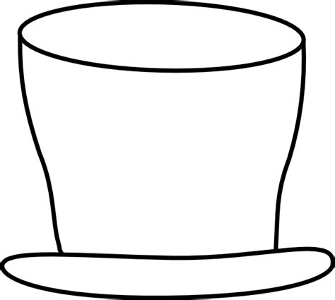 frosty hat coloring page top hat coloring page