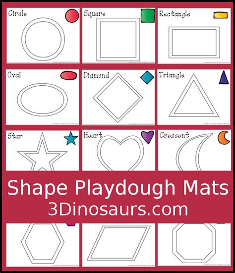 playdough templates free shape playdough mats 3 dinosaurs play dough