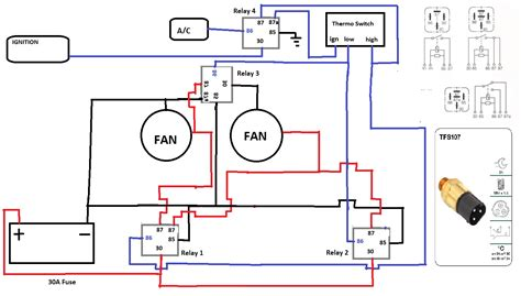 thermo switch wiring diagram ford au thermo fan wiring diagram wiring diagram