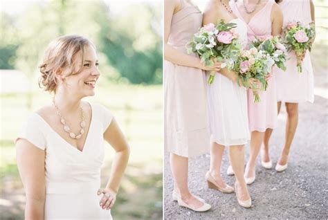 Garden Wedding Hairstyles For Guests east coast garden wedding once wed