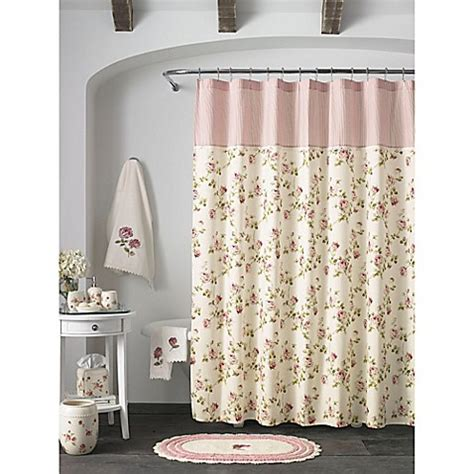 shower curtains bed bath beyond piper wright rosalie shower curtain bed bath beyond