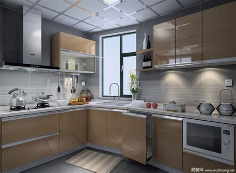 House Design Architecture 现代橱柜效果图 编号 2997 我装 183 装修网