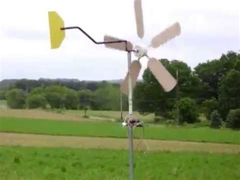 ceiling fan wind generator building a ceiling fan wind turbine youtube