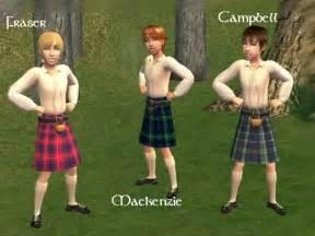 Scottish children in kilts mod the sims x3cb x3escottish kilts x3c