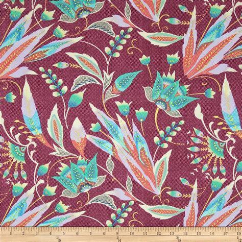 amy butler home decor fabric amy butler glow home d 233 cor sateen trivoli rose discount