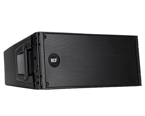 Speaker Line Array Rcf rcf hdl20a d line 1400 watt peak active line array speaker reverb