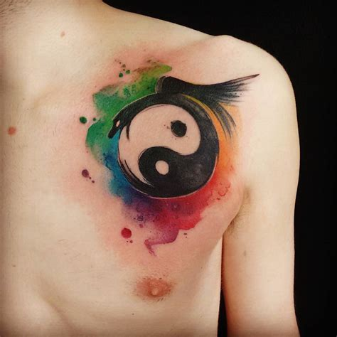 yin yang flower tattoo 115 best yin yang designs meanings chose yours