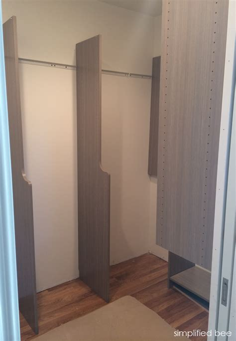 Easy Closets Installation by Our Small Walk In Closet Design Simplified Bee