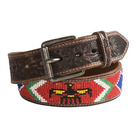 bead belt beaded leather belts for images