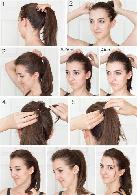 hair front bump tutorials my minimal summer haircare routine fun up do hairstyle