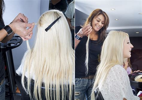 the shocking hair extensions before and after you have to hair extensions quick tutorial