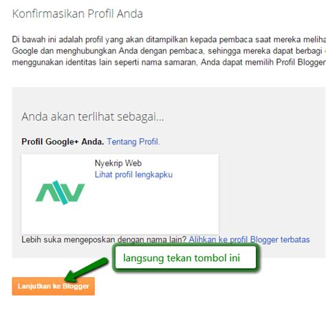 cara membuat foto profil di blog wordpress cara membuat blog di blogspot lengkap gambar nyekrip