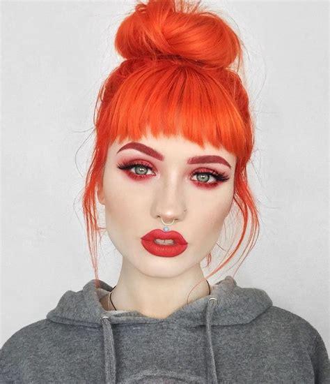 orange hair color best 25 orange hair colors ideas on orange