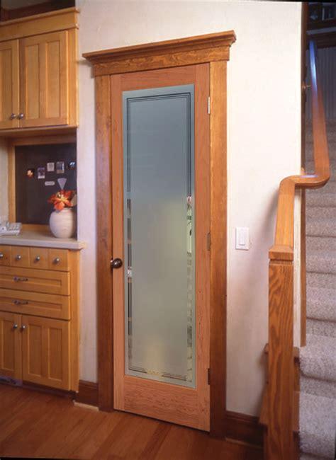 Interior Doors With Privacy Glass Hamilton Decorative Glass Interior Door Traditional Kitchen Sacramento By Homestory Easy
