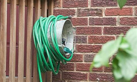 Garden Hose Storage Ideas 8 Cool Storage Ideas For The Garden Hose
