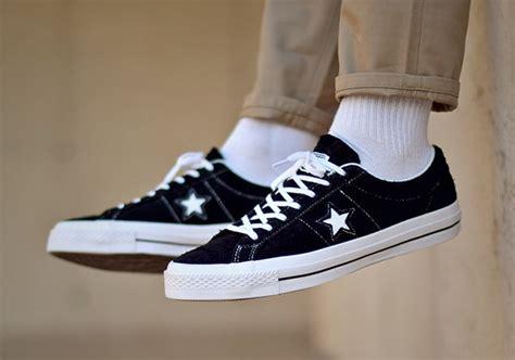 Converse 70s Suede Ox Black sneakpick converse one suede sneakers