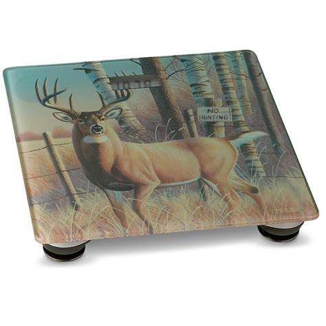 whitetail deer bathroom accessories river s edge 174 whitetail deer bathroom scale 136608 bath at sportsman s guide