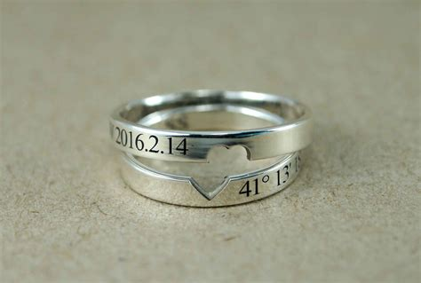 Promise Rings For by Rings Ring Set Promise Rings For Couples His