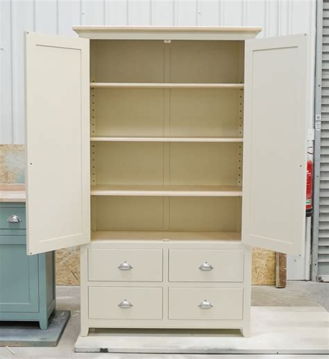 straight neutral stand alone cabinets pantries under free standing kitchen pantry units handmade solid wood
