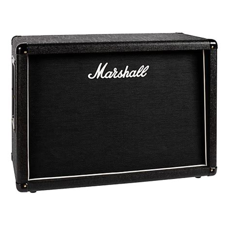 Marshall Guitar Cabinet by Marshall Mx212 2x12 Guitar Speaker Cabinet Black
