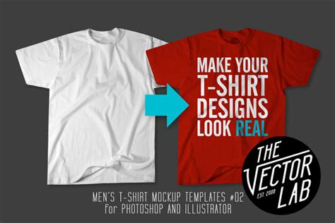 Men S T Shirt Templates 02 Product Mockups On Creative Market Graphic Design Templates For T Shirts