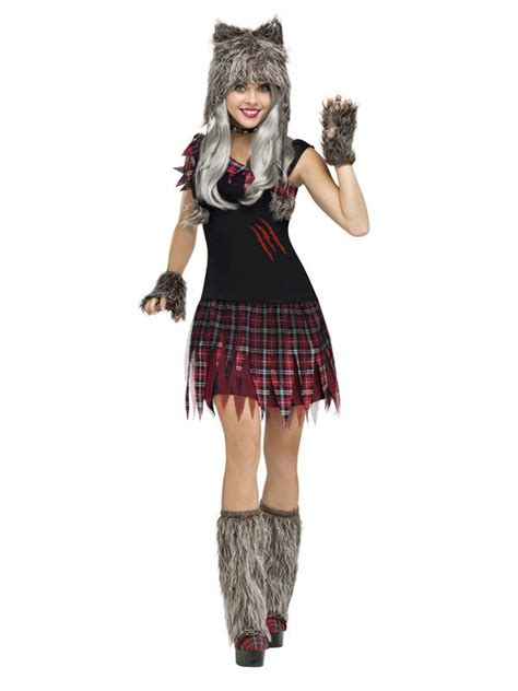 werewolf halloween costume  women adults costumesand