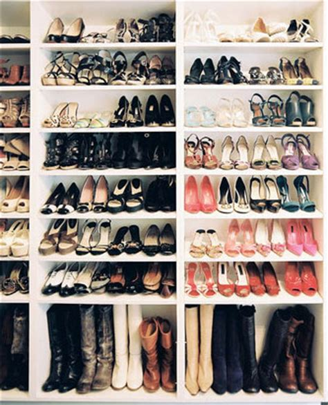 how to organize shoes in a small closet the diy create your own organized shoe closet blushing