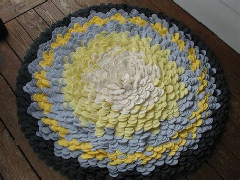 Yellow And Grey Kitchen Rugs Felt Flower Rug My Yellow Grey Kitchen
