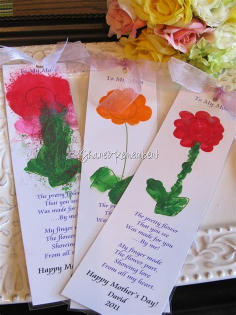 printable bookmarks with flowers printable flower bookmark for mom mother s day gift