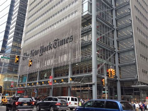 New York Times Office by New York Times Headquarters Renzo Piano Building E