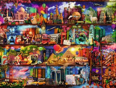 libreria fantasia puzzle ravensburger puzzle de 2000 piezas puzzle libreria