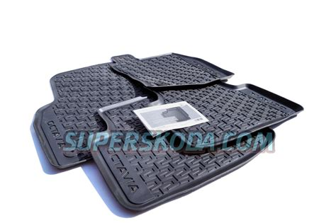 Skoda Floor Mats octavia iii floor mats rubber heavy duty original