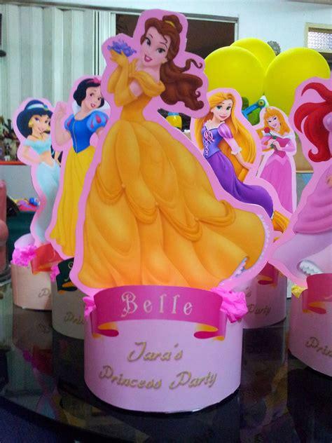 disney princess centerpiece parteeees