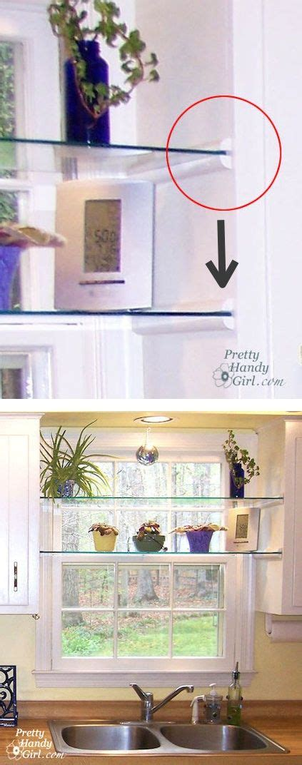 kitchen window shelf ideas best 25 glass shelves ideas on glass shelves