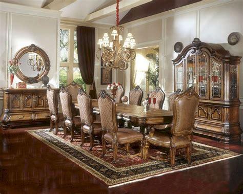 Aico Tuscano Dining Room Set by Aico Dining Set W Trestle Table Tuscano Ai 34002