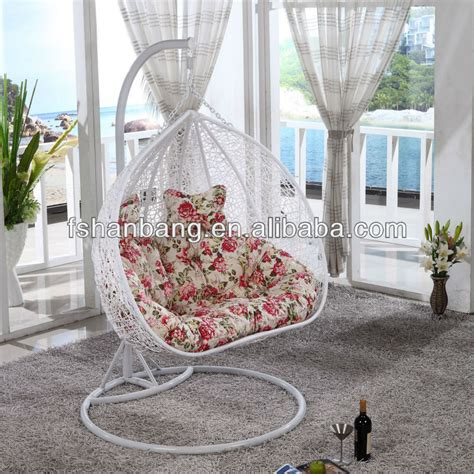 balcony swing wholesale promotional all weather white rattan patio