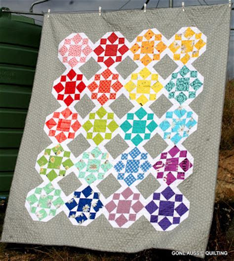 On A Whim Quilt by Aussie Quilting On A Whim Quilt Finished