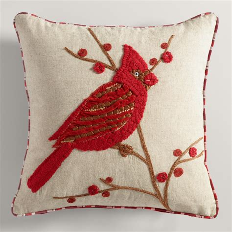 bird with branch throw pillow world market